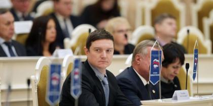 Заседание ЗАКСа в Петербурге.