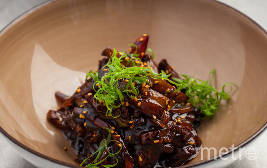 Говядина в соусе из чёрного перца (ресторан DUO ASIA). Фото предоставлено DUOBAND