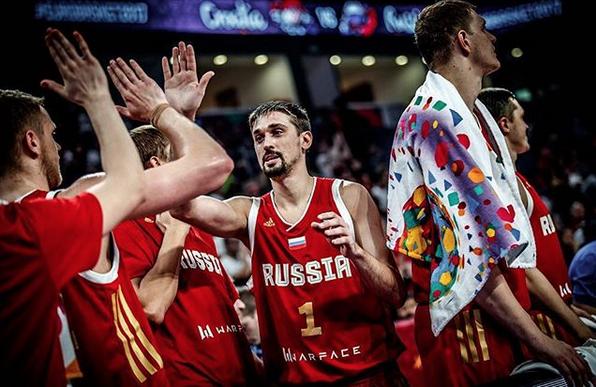 Швед стал главным героем четвертьфинала. Фото Instagram @russiabasket