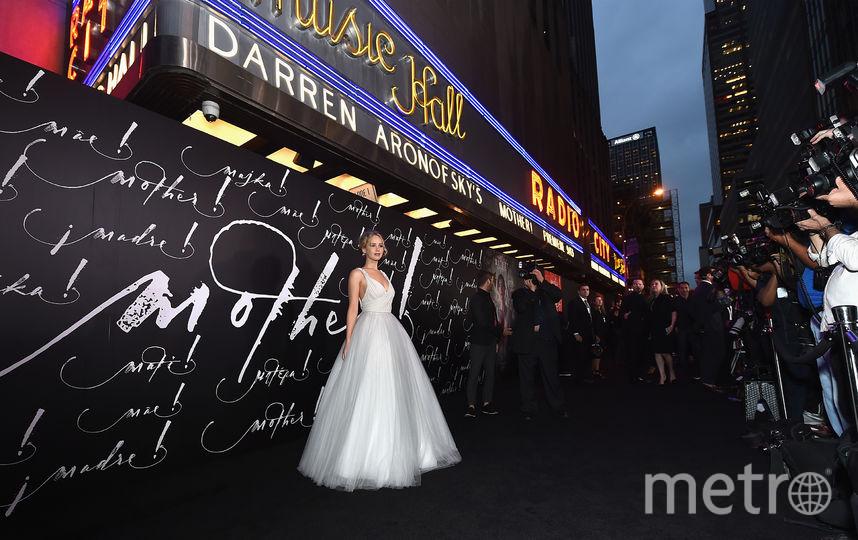 """На премьере фильма """"Мама!"""" в Нью-Йрке. Фото Getty"""