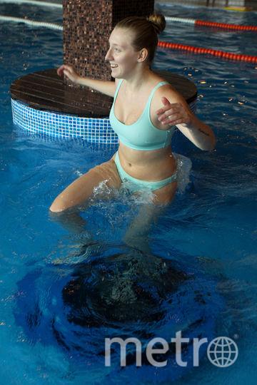 """Прыжки и танцы в воде укрепят мышцы и повысят выносливость. Фото Василий Кузьмичёнок, """"Metro"""""""