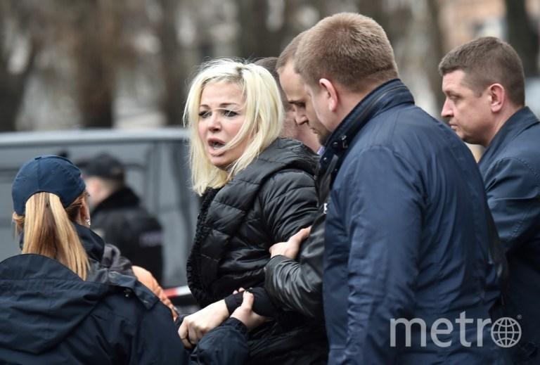Мария Максакова, жена убитого Дениса Вороненкова. Фото AFP
