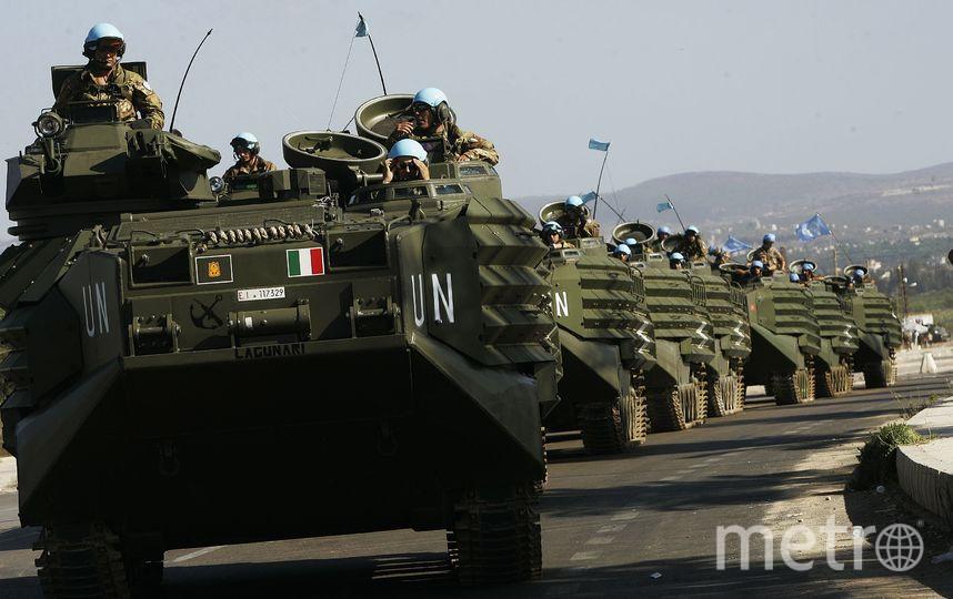 Миротворцы ООН. Фото Getty