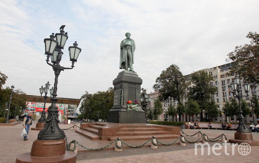 Памятник Пушкину. Фото Василий Кузьмичёнок