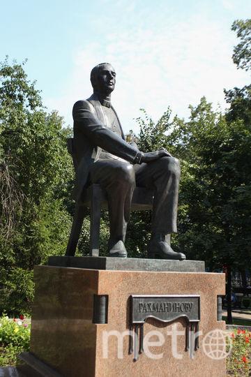 Памятник Рахманинову. Фото Василий Кузьмичёнок