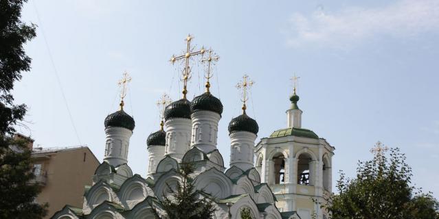 Храм Успения Пресвятой Богородицы в Путинках.