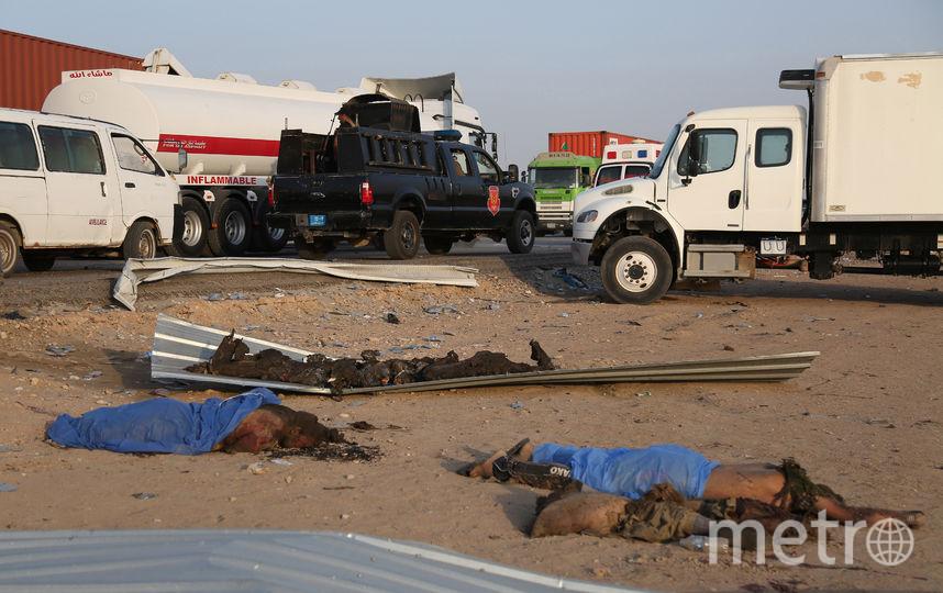Место трагедии. Фото AFP
