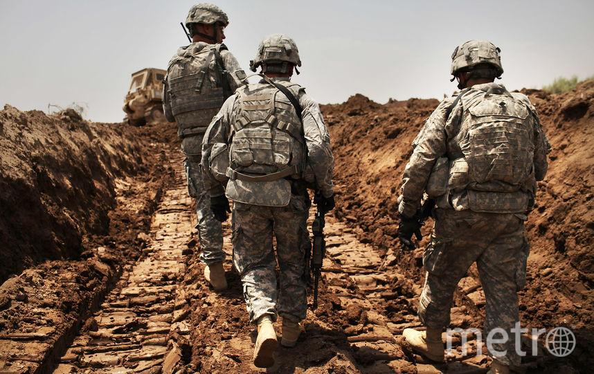 Американские военные. Фото Getty