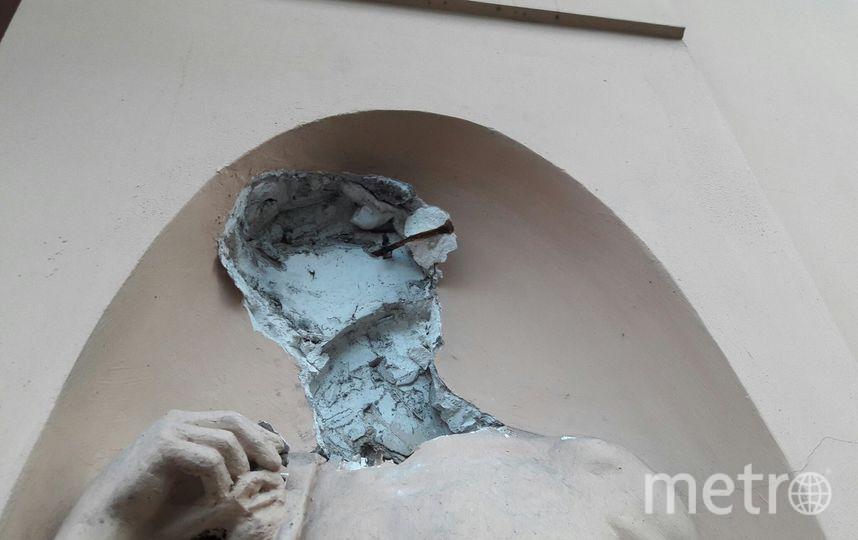 """Так выглядит скульптура 15 сентября. Фото Софья Сажнева., """"Metro"""""""