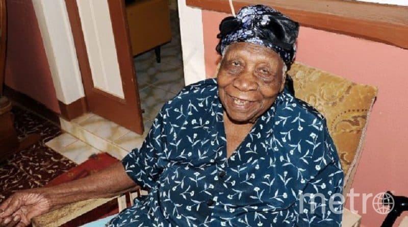 Вайолет Мосс Браун, старейшая жительгица Земли. Фото Wikipedia