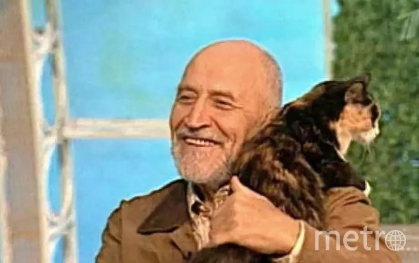 """Николай Дроздов - кадр из передачи """"В мире животных"""". Фото Скриншот YouTube"""
