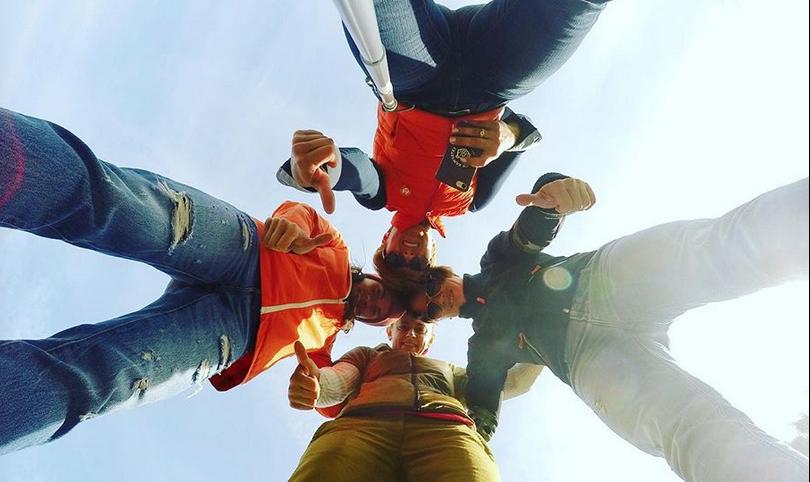 Накануне ДТП Светлана Слепцова выложила в Instagram совместное фото, где все подруги стоят вместе.