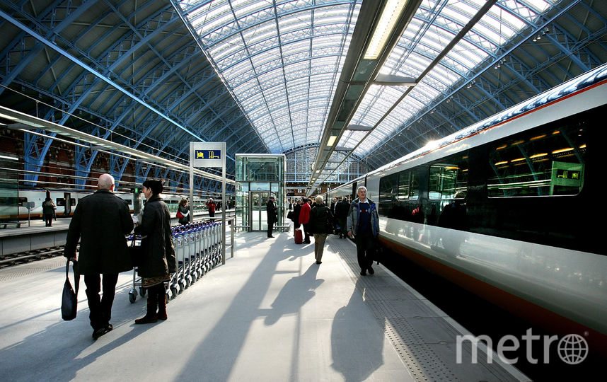 ЖД станция. Фото Getty