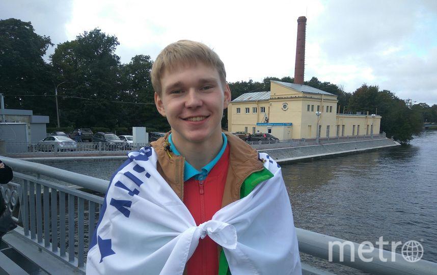 "Максим Кузнецов, студент, 18 лет. Фото Филипп Ковалёв, ""Metro"""
