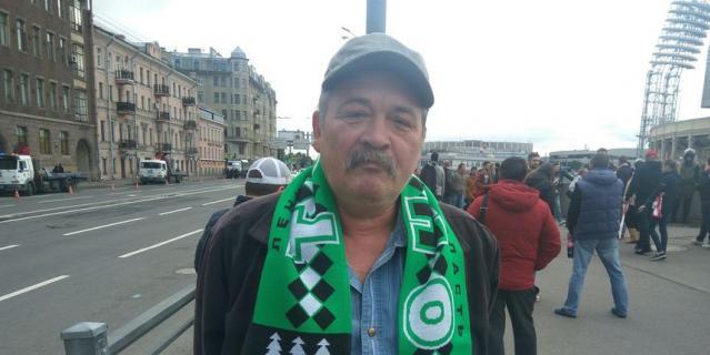 Александр Константинов, электромонтёр, 58 лет.