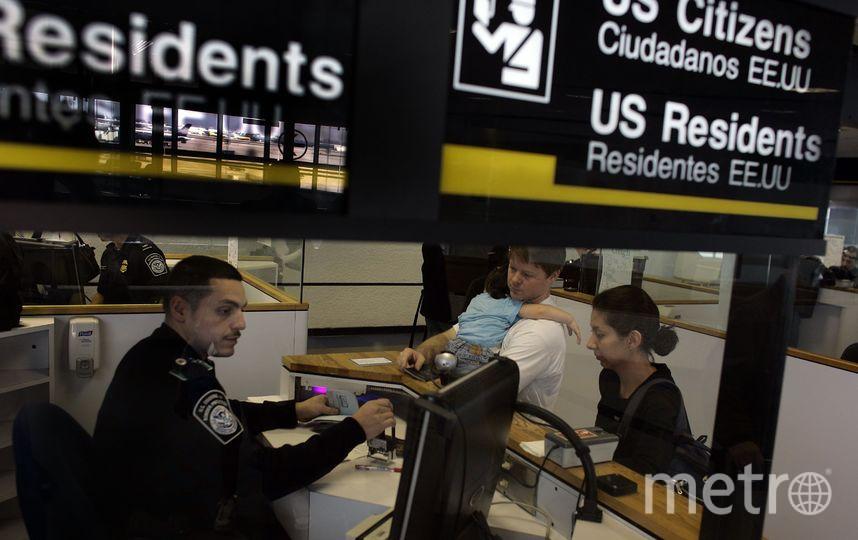 Граница США. Фото Getty