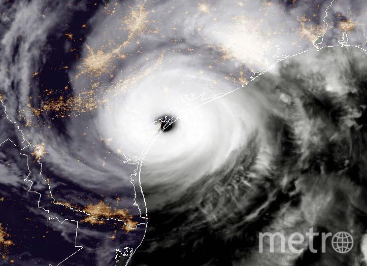 "Ураган ""Харви"". Фото Getty"