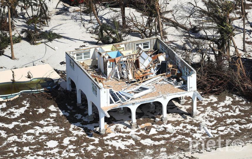 "Последствия урагана ""Ирма"". Фото Getty"