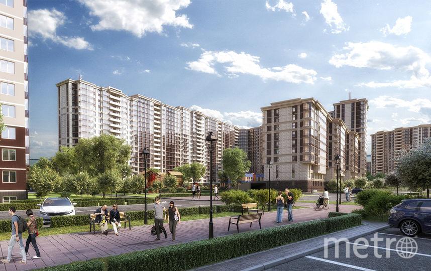 ЖК Материк - новый объект рядом с метро Девяткино.