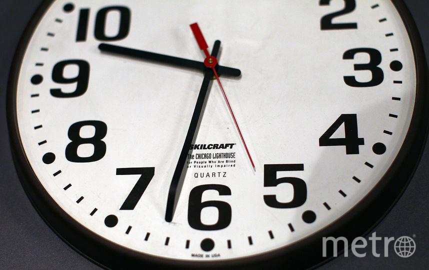 Часы. Фото Getty