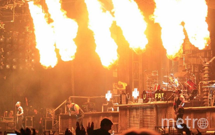 Выступление группы Rammstein. Фото Wikipedia