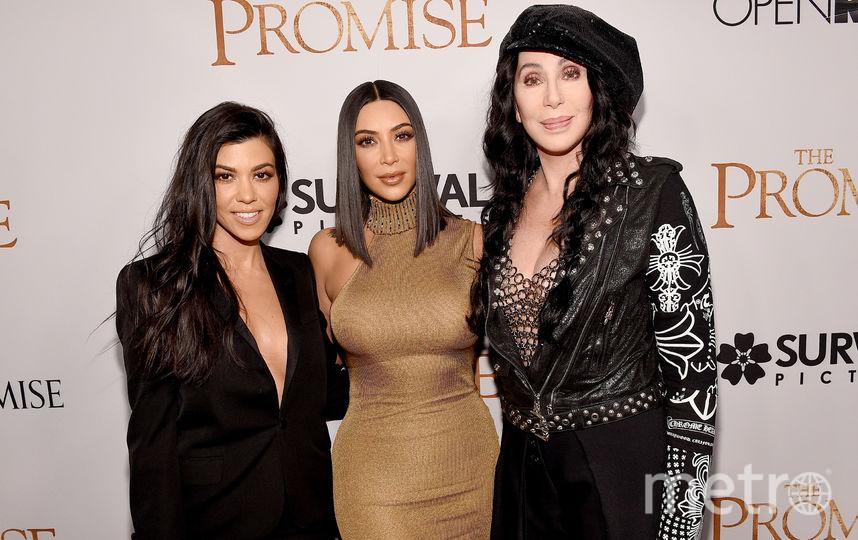 Ким Кардашьян взорвала Instagram фото мамы и бабушки в молодости. Фото Getty