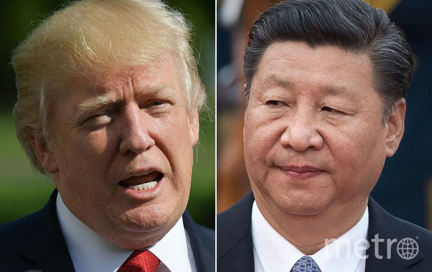 Дональд Трамп и Си Цзиньпин. Фото AFP