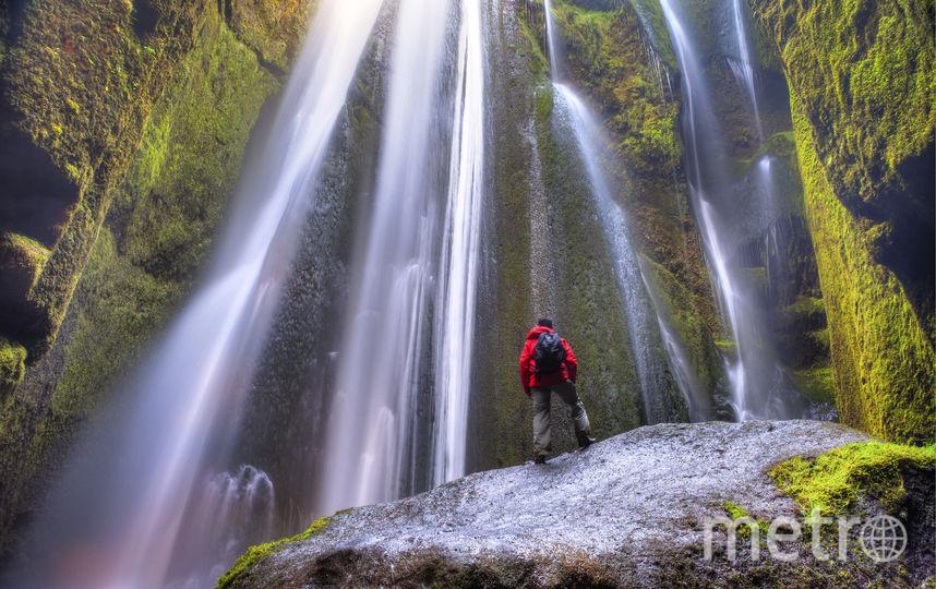 Водопад Глюврафосс. Фото Istockphoto
