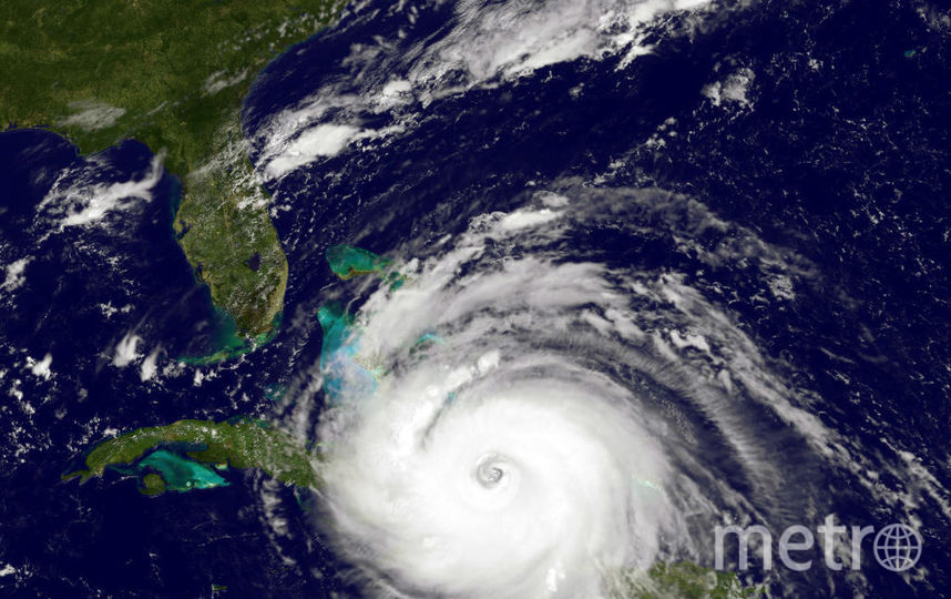 "Ураган ""Ирма"". Фото Getty"