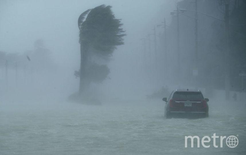 """Последствия урагана """"Ирма"""" во Флориде. Фото Getty"""