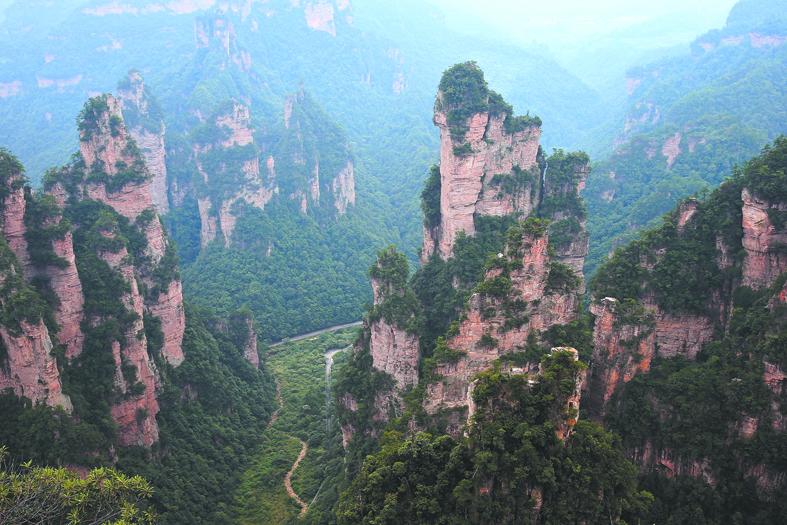 Гора Тяньцзи. Фото Flickr