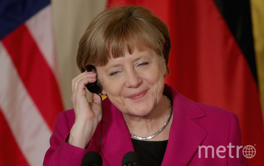 Канцлер Германии Ангела Меркель. Фото Getty