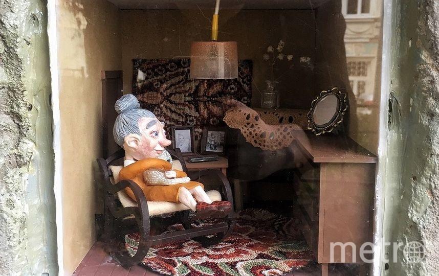 """Арт-объект: """"Позвони маме"""". Фото Иван Серый"""