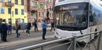 В ДТП с автобусом на Лиговском в Петербурге пострадали две женщины