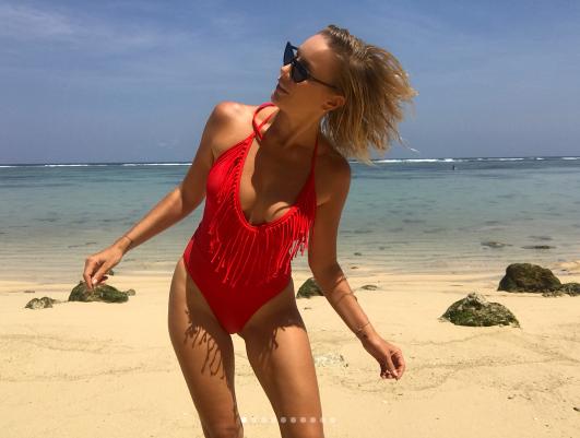 Елена Летучая на Бали. Фото Instagram телеведущей