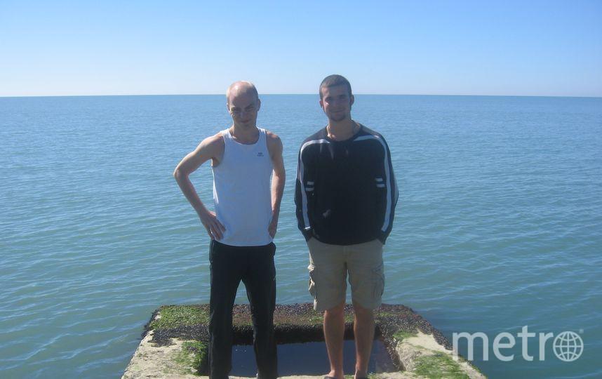 Друзья Александр Никитин и Николай Иванов. Фото предоставлено Александром Никитиным