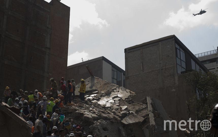 Землетрясение произошло в Мексике. Фото Getty