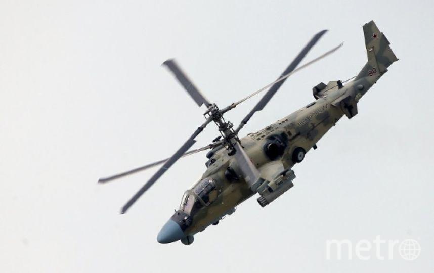 Вертолёт Ка-52. Фото РИА Новости
