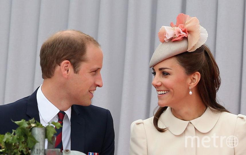 Принц Уильям и герцогиня Кэтрин. Фото Getty