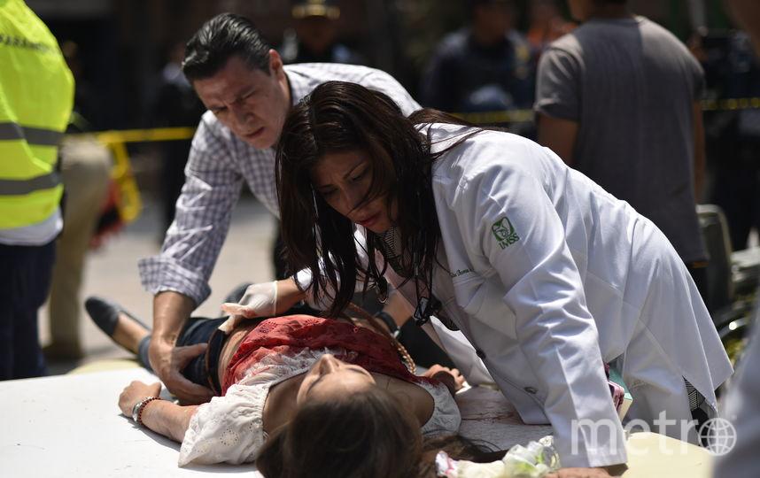 Мексику сотрясло более 10 повторных толчков. Фото AFP