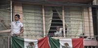 После мощного землетрясения в Мексике ожил вулкан Попокатепетль