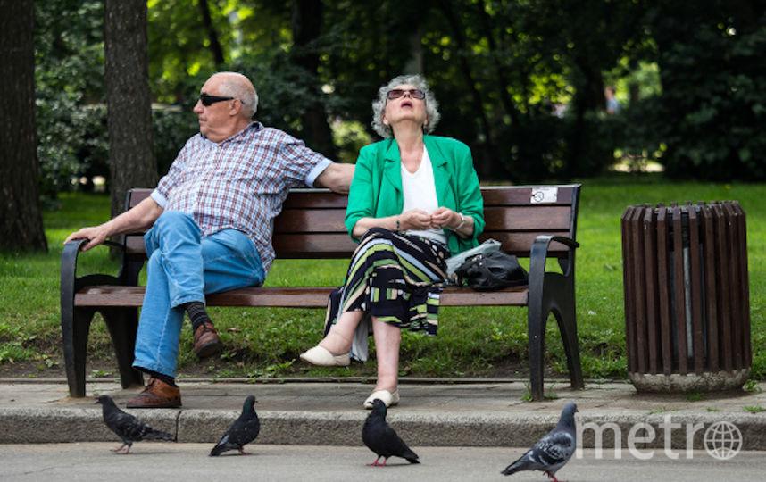 """Отдыхающие в парке """"Сокольники"""". Фото РИА Новости"""