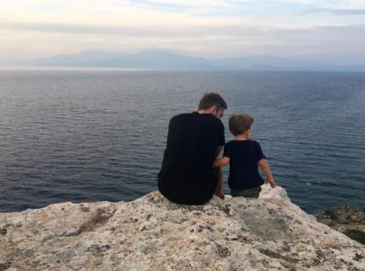 Дмитрий Шепелев и Платон. Фото Instagram Дмитрия Шепелева