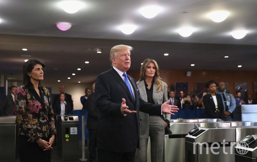 Мелания Трамп появилась на публике в новом и неожиданном образе. Фото Getty