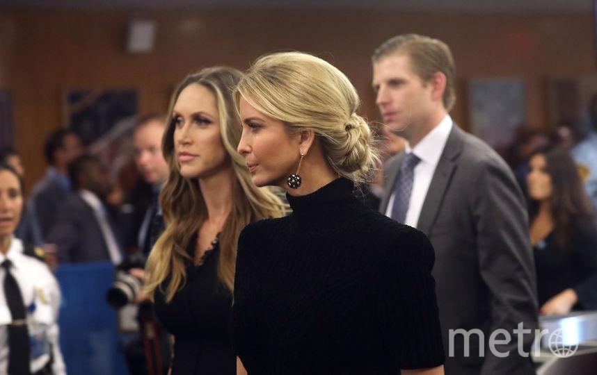 Иванка Трамп также предпочла черный цвет. Фото Getty