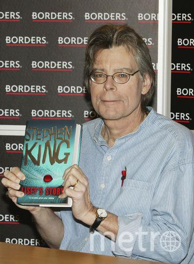 """Стивену Кингу 70: Яркие фото """"Короля ужасов"""". Фото Getty"""