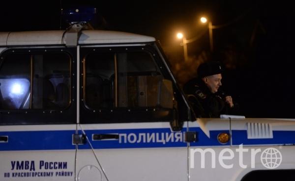 Полиция пресекла массовую драку. Фото РИА Новости