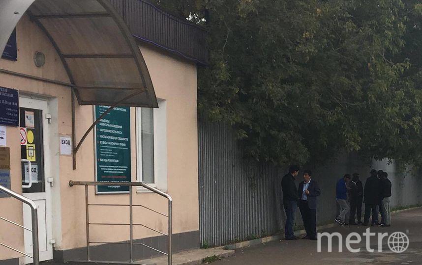 """Больница, в которой лежит пострадавший мигрант. Фото Дарья Буянова, """"Metro"""""""