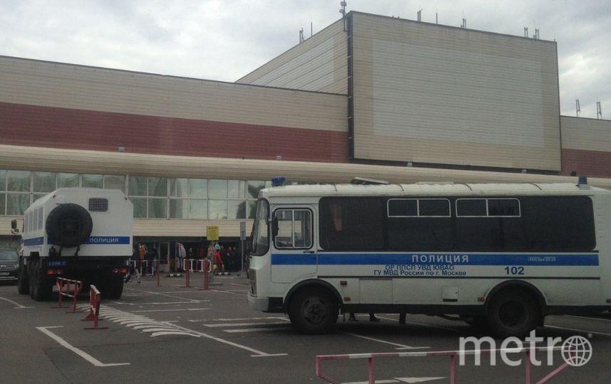 """Кадры с ТЦ """"Москва"""". Фото Metro"""