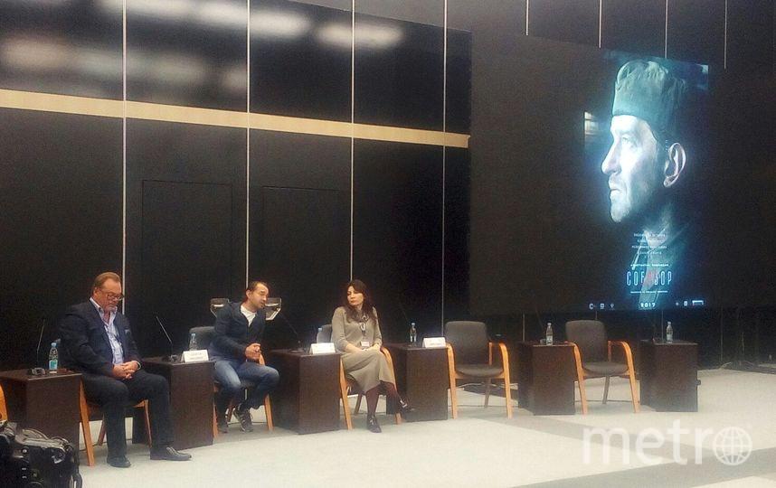 Пресс-конференция Констнатина Хабенского. Фото Наталья Сидоровская.